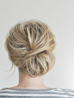 Nothing I love more than messy hair!!! Maybe for Cassie's wedding? @Cassandra Dowman Christine