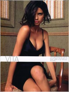Adriana Lima obviously not an actress but love her as a modellll