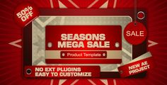 Seasons Mega Sale Template #Advertisement, #Broadcast, #BusinessPresentation, #Clean, #Commercial, #Corporate, #Fashion, #Fun, #HappyChristmas, #Lifestyle, #Liv4New, #PhotoAlbum, #Portfolio, #ProductDemonstration, #Promotion, #Wedding http://goo.gl/5KUinD