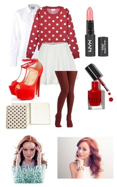 """""""Cassandra Klen Inspired Outfit- The Librarians"""" by rebel-chic17 ❤ liked on Polyvore featuring Maiyet, RHYTHM, Christian Louboutin, Bobbi Brown Cosmetics, Kate Spade and theLibrarians"""