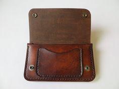Trucker Wallet Biker Wallet Full Grain Leather Wallet Mens  bc4aedfed903a