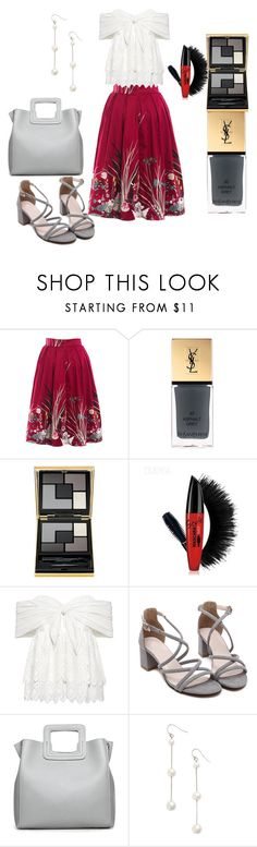 """Raise your hands, it's Wednesday"" by feralkind ❤ liked on Polyvore featuring Yves Saint Laurent, Sea, New York and Chan Luu"