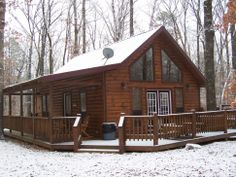 Looking for rustic romance? Book one of the luxurious Heartpine Hollow Cabins near Beavers Bend State Park in Southeast Oklahoma.