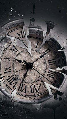 Compass Wallpaper, Clock Wallpaper, Galaxy Wallpaper, Wallpaper Backgrounds, Phone Wallpapers, Creation Image, Pocket Watch Tattoos, Clock Tattoo Design, Tattoo Clock
