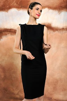 The LBD designed by Livia Firth for LFD, made with 100% organic wool and a 100% Lenpur lining. Available on Yoox.com
