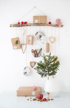 One of my advent calendar ideas from last year for Sweet Living magazine