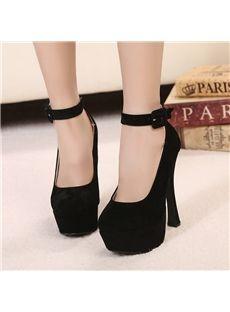 edc6b294d6e 2013 New Sexy Black Closed-toe Stiletto Heels Platform Women s  Shoes   Shoespie Black