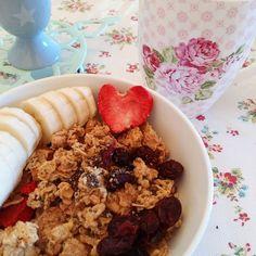 Un bon et joli petit déj pour bien commencer la journée