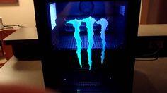 Monster Energy Drink Refrigerator For Sale Fridge Cooler, Mini Fridge, Monster Energy Clothing, Iving Room Ideas, Monster Energy Drink Logo, Hello Kitty Rooms, Dark Green Aesthetic, Game Room Design, Drink