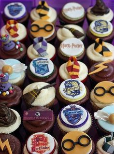 Harry Potter cupcakes For you Madalyn Grace