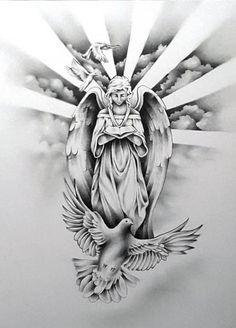 Upper arm tattoos - Upper arm tattoos - Source by Mädchen Tattoo, Forarm Tattoos, Jesus Tattoo, Forearm Sleeve Tattoos, Dope Tattoos, Body Art Tattoos, Hand Tattoos, Tattoo Flash, Angels Tattoo