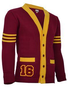 School Sweaters Both Sleeve Stripes Letterman Sweaters, Softshell, Stripes, King, Formal, School, Sleeves, Jackets, Stuff To Buy