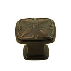 Stone Mill Hardware Edinborough Oil-rubbed Bronze Cabinet Knobs (Pack of 10)