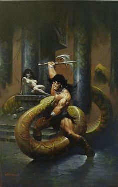 Conan  Art by Ken Kelly