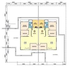 Image Result For House Plans For 2 Bedroom Semi Detached Cottages House Plans Flat Plan Architecture House