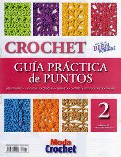 lots of different crochet books etc site Crochet Instructions, Crochet Diagram, Crochet Chart, Love Crochet, Crochet Motif, Knit Crochet, Crochet Patterns, Crotchet Stitches, Knitting Stitches