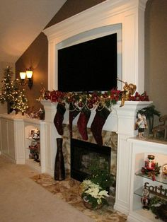 Shelby Twp Fireplace - traditional - living room - detroit - Lindsey Neumann