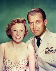 """James Stewart, June Allyson in """"The Glenn Miller Story"""" (1953)."""