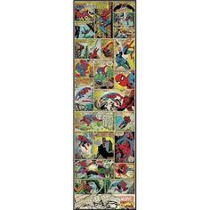 spiderman comic decor