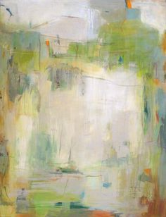 Martha Rae Baker, Early Spring—-48″ x 63″—-Acrylic on Canvas