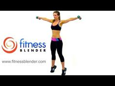22 Minute Beginner Boot Camp Workout – Easy Toning & Low Impact Cardio Workout