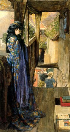 The Ugly Princess (c. 1902). Eleanor Fortescue Brickdale (English, 1871-1945).    Inspired by a poem by Charles Kingsley