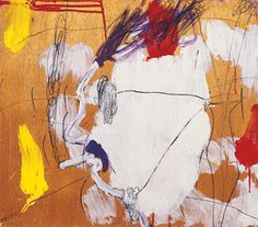 Painted by Raffi Lavie (Hebrew: רפי לביא; 1937 – May . Abstract Expressionism, Abstract Art, Venice Biennale, Pink Elephant, Art Boards, Cy Twombly, Concept, Shapes, 1980s