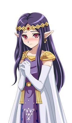 Princess Hilda, The Legend of Zelda: A Link Between Worlds artwork by Muedo.
