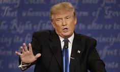 """Tổng thống Mỹ Donald Trump. Ảnh: AP      """"Nếu ông Trump bây giờ đưa lệnh hạn chế nhập cảnh lên tòa án tối cao Mỹ, ông sẽ phải đối diện với khả năng thua khi có tỷ lệ ủng hộ và phản đối ngang nhau"""", Giáo sưJohn Banzhaf, Trường Luật thuộc Đại họcGeorge..."""