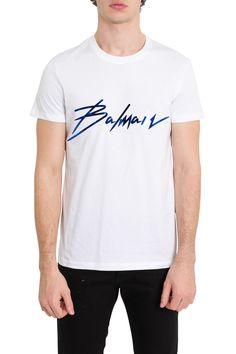 ce1b27efdb BALMAIN SIGNATURE TEE.  balmain  cloth. ModeSens Men