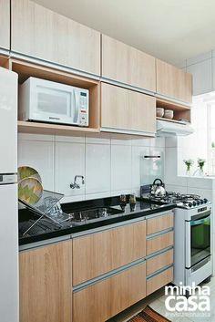 Modelos de cozinha corredor