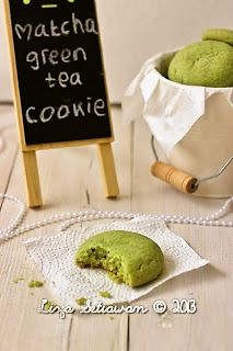 Matcha Green Tea Cookies