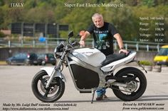 Electric Motorcycle 8