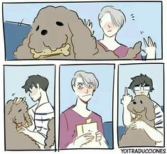Read Victuuri from the story Yaoi/Anime pics by sushiandtea (APH_Cecilia) with reads. Anime: Yuri On IceShip: Victor x Yuuri Yuri Plisetsky, Yuri On Ice Comic, Tous Les Anime, Katsuki Yuri, ユーリ!!! On Ice, Fanart, Anime Love, Manga Anime, Fanfiction
