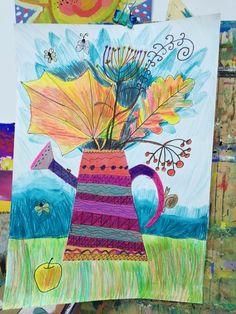 Рисование детям. ИЗОстудия. Просвещения 62. Autumn Activities, Art Activities, Art Drawings For Kids, Art For Kids, Diy And Crafts, Arts And Crafts, 5th Grade Art, Spring Art, Art Lesson Plans