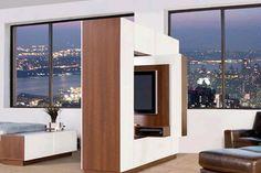 Separar ambientes.... ideal para una casa pequeña !!