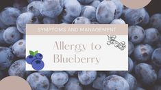 Blueberries, Allergies, Eat, Berry, Blueberry