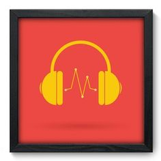Quadro Decorativo - Beat - 022qdg