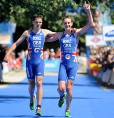 Neither of the Brownlee Brothers in the Men's Triathlon event for Great Britain