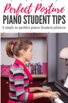 """Three tips for """"perfect"""" piano student posture at the piano Posture Help, Good Posture, Piano Teaching, Teaching Tips, Best Piano, Perfect Posture, Studio Organization, Learning Styles, Piano Lessons"""