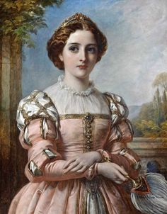 1883 ''Beatrice'' by Thomas Francis Dicksee.