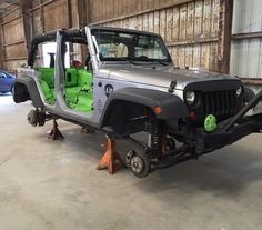 We're excited to offer this incredible new product -- stop by to learn more! Check out this awesome #Jeep we have at the shop. We sprayed a custom colored bedliner on the interior and will be painting various accessories as well... Stay tuned for this beast of a Jeep!! Call us at 512-389-0026 or stop by today for a free estimate! #Rhinolining #Austin #collision #ranchhand #paintjob #collisionrepair #bodyshop #austinbodyshop #bodyshopaustin #texas #besomebody #zilkerpark #6thstreet…