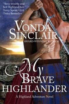 My Brave Highlander (Book 3 in the Highland Adventure Series.)  A man long believed dead, Dirk MacKay returns home to a den of murderous conspirators in Durness, Scotland. Along the icy trail north, he rescues Lady Isobel MacKenzie from a snowstorm. He would never steal the neighboring chief's bride, would he? The tantalizing lady fires up his passions, testing his willpower and honor at every turn, even as some of his own clansmen plot his downfall. http://amzn.com/B008N1UZVC