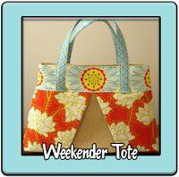 Sew Spoiled: Tutorials - Weekender Tote