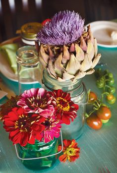 Farm to Table Bridal Shower--great idea for an engaged foodie friend