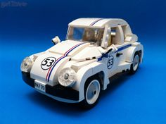 Herbie in Lego from www.brickd.com