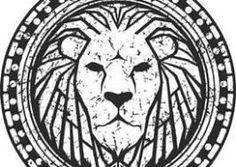 Millions of Free Graphic Resources. Leo Tattoos, Body Art Tattoos, Tribal Tattoos, Tattoos For Guys, Chest Tattoo, Arm Band Tattoo, Leon Logo, Logo Lion, Hirsch Tattoo