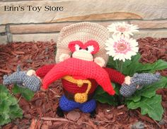 Yosemite Sam A crochet pattern by Erin Scull free on Ravelry...