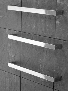 Kado | Quad | Wall Mounted Heated Towel Rail $315