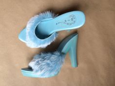 90's vintage clubwear platform heels #1990s